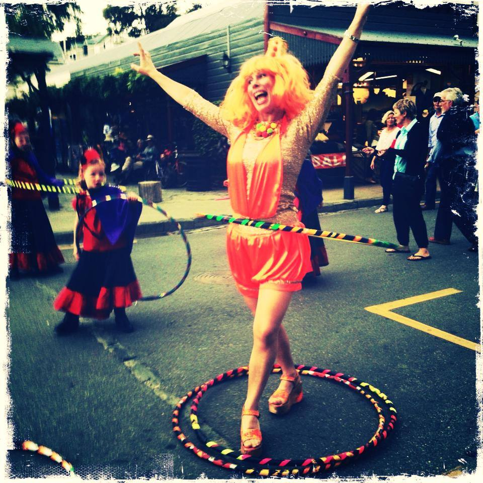 HulaHoop Street Party
